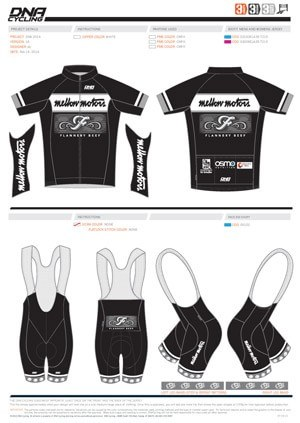 Mellow Motors Cycling Team - The new kit for 2015 #1